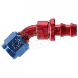 Końcówka aluminiowa QSP Push-On 45* D04