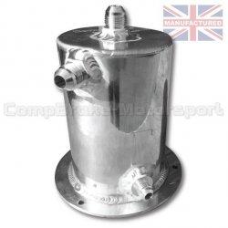 Fuel Swirl Pot/zbiornik wyrównawczy paliwa Compbrake 1L (JIC)
