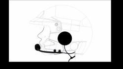 Zestaw słuchawkowy Zero Noise INTREPID do kasku zamkniętego