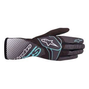 Rękawice kartingowe Alpinestars Tech 1-K Race V2 Carbon