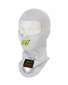 Balaklawa P1 Advanced Racewear Aramid srebrna (FIA)
