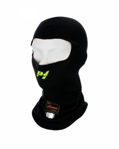 Balaklawa P1 Advanced Racewear Aramid czarna (FIA)