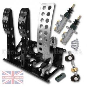 Pedal Box Compbrake Sportline3 zestaw z pompami, balancerem i mocowaniami