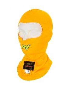 Balaklawa P1 Advanced Racewear Aramid żółta (FIA)