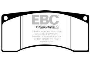 Klocki hamulcowe EBC Bluestuff przód SUBARU Impreza 2.0 Turbo (Prodrive P1) 2000-2001