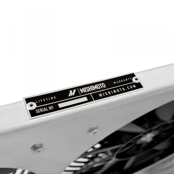 Wentylatory z aluminiową obudową Mishimoto MAZDA RX-8 2004-2008