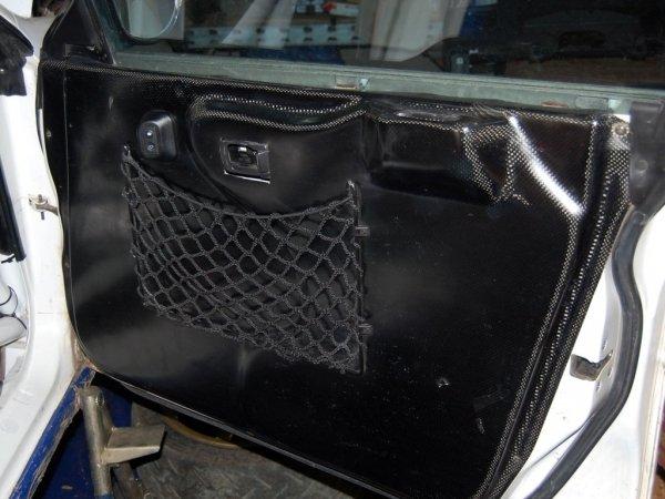 Karbonowe panele boczne (drzwiowe) Subaru Impreza GC8