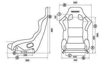 Fotel RECARO Profi SPG XL (FIA)