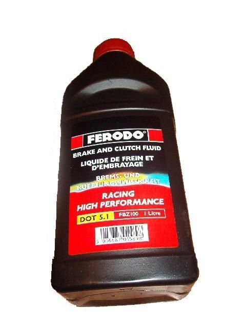 Płyn hamulcowy FERODO DOT 5.1 0,25L FBZ025A