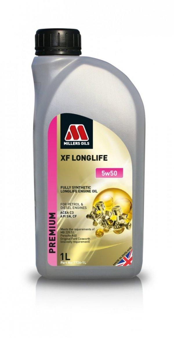 Olej Millers Oils XF Longlife 5w50 1l