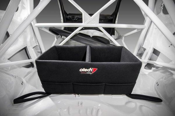 Skrzynia na kaski z bocznymi kieszeniami ATECH Racing
