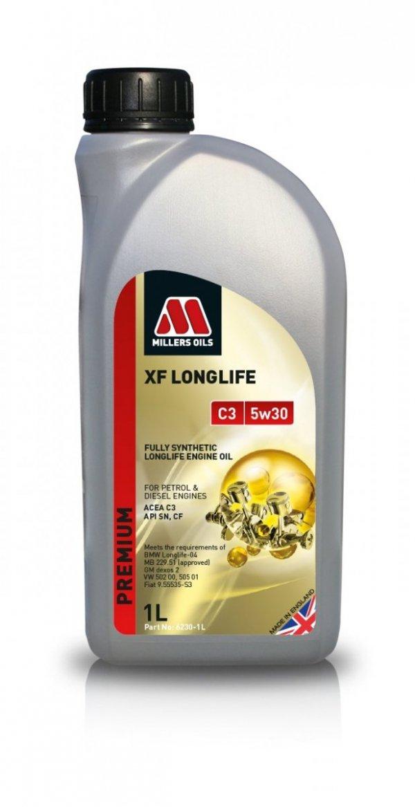 Olej Millers Oils XF Longlife C3 5w30 1l