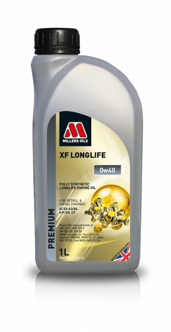 Olej Millers Oils XF Longlife 0w40 1l