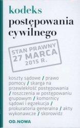 KODEKS POSTĘPOWANIA CYWLINEGO 27.03.2015 FOLIA