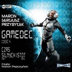 CD MP3 CZAS SILNYCH ISTOT GAMEDEC TOM 4
