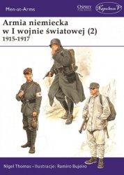 ARMIA NIEMIECKA W I WOJNIE ŚWIATOWEJ 1915-1917 TOM 2