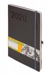 KALENDARZ 2020 IMPRESJA B5 SZARY TDW