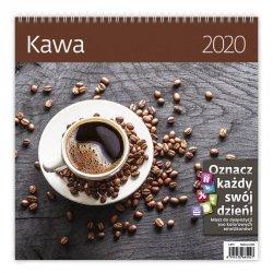 KALENDARZ 2020 KAWA 30X30