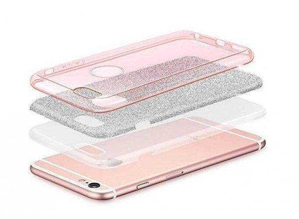 Wozinsky Glitter Case błyszczące etui pokrowiec z brokatem Huawei Mate 30 Lite czerwony