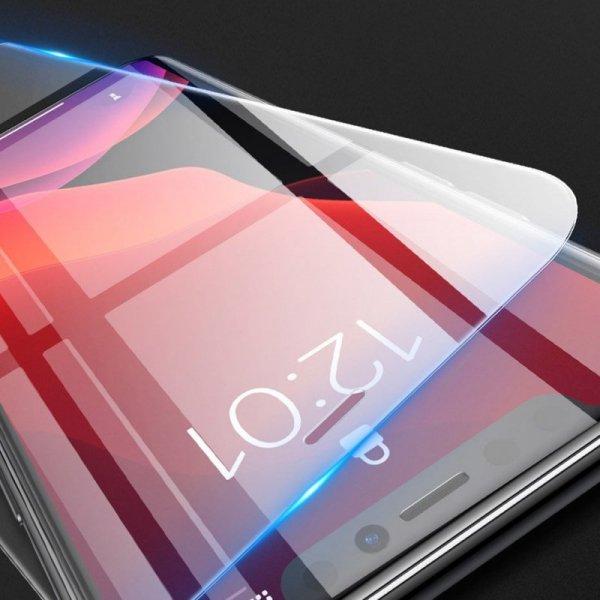 Baseus zestaw 2x szkło hartowane 0.15mm 9H Anti-bluelight iPhone 11 Pro Max / iPhone XS Max + pozycjoner (SGAPIPH65S-FC02)