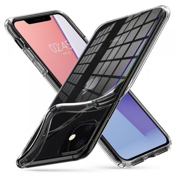 Etui Spigen Liquid Crystal Iphone 11 Crystal Clear