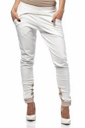 Spodnie Damskie Model MOE157 Ecru