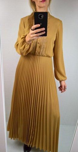 Sukienka Maxi Miód Plisa