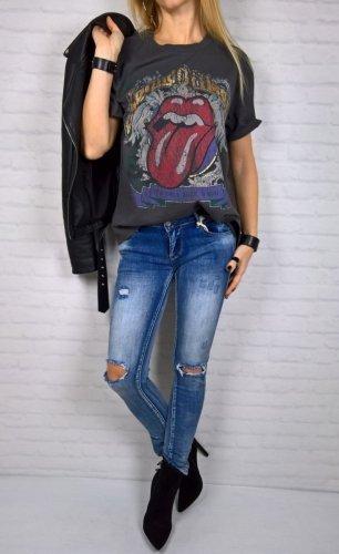 Bluzka T-shirt RockandRoll Grey