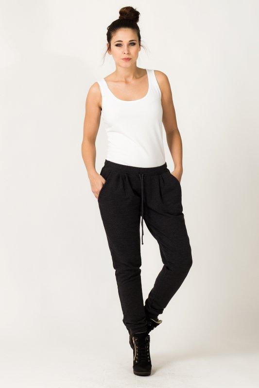 Spodnie Damskie Model Alina 1 Dark Grey