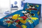 Pościel Myszka Mickey 160x200 cm Faro 100% bawełna Mickey Mouse
