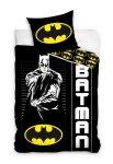 Pościel Batman 140x200 Czarna - Carbotex 100% bawełna wz. BAT 191