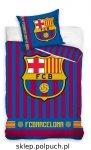 Pościel Barcelona 140x200 100% bawełna Carbotex FCB 182013 Piłka Nożna