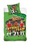 Pościel Supa Strikas 160x200 100% bawełna Carbotex Piłka Nożna