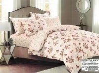 Pościel Collection World 160x200 Różowa w Kwiaty 100% bawełna wz 846