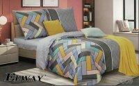 Bawełniana pościel Elway 160x200 Kolorowa wz 4806