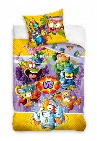 Pościel dla dzieci Super Zings 160x200 Kolorowa - Carbotex 100% bawełna. Pościel Super Zings dla dzieci.