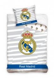 Pościel Real Madryt 160x200 100% bawełna Carbotex RM 8018 Real Madrit Piłka Nożna
