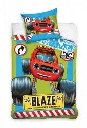 Pościel dla dzieci Samochód Blaze 140x200 Carbotex 100% bawełna BMM 173004