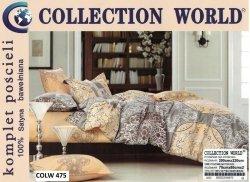 Bawełniana pościel Collection World 200x220 wz 475