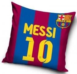Poszewka bawełniana Barcelona Messi 40x40 cm Carbotex 100% bawełna Piłka Nożna