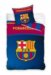 Pościel Barcelona 160x200 100% bawełna Carbotex FCB 181036 Piłka Nożna