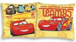 Poszewka bawełniana dla dzieci Disney Cars 40x40 Detexpol 100% bawełna samochody