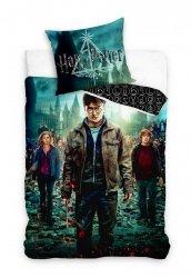 Pościel młodzieżowa Harry Potter 160x200 Carbotex 100% bawełna HP188014