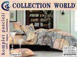 Pościel Collection World 160x200 100% bawełna wz 475