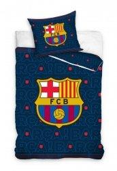 Pościel Barcelona 160x200 100% bawełna Carbotex FCB 1002 Piłka Nożna