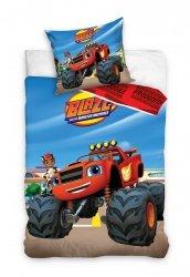 Pościel dla dzieci Samochód Blaze 160x200 Carbotex 100% bawełna BMM 1002