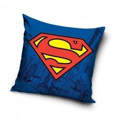 Poszewka Superman Niebieska 100% bawełna Carbotex wz. SUP 8002