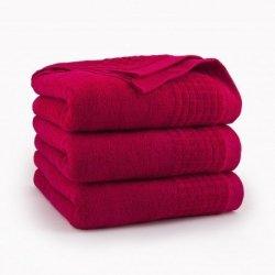 Ręcznik kąpielowy 50x90 Czerwony Paulo - Zwoltex