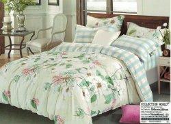 Pościel Collection World 200x220 Kolorowa w Kwiaty 100% bawełna wz 924