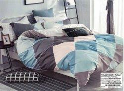 Pościel Collection World 160x200 Kolorowa w Kratkę 100% bawełna wz 1172